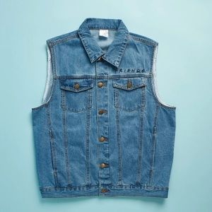 Tops - NEW Friends Denim Vest - Friends TV Show